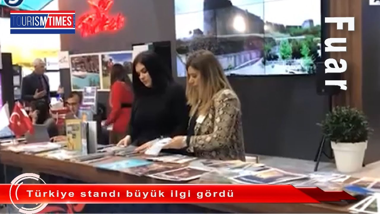 Türkiye standı büyük ilgi gördü