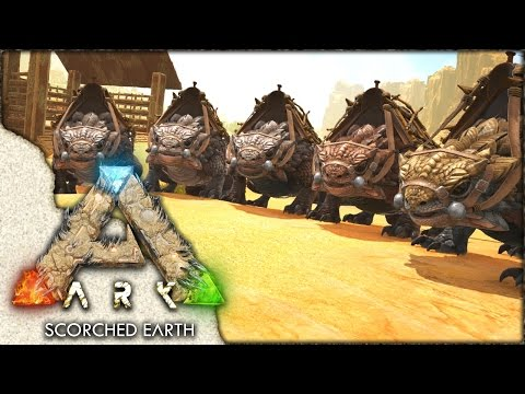 ARK: Scorched Earth ~ Ep 20 ~ THORNY DRAGON ARMY!!