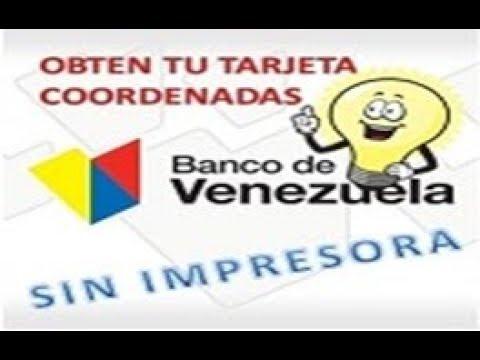 Solicitar tarjeta de coordenadas banco de venezuela for Banco de venezuela clavenet personal