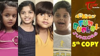 Fun Bucket JUNIORS | Students Jokes | Episode 5 | Kids Funny Videos | Comedy Web Series