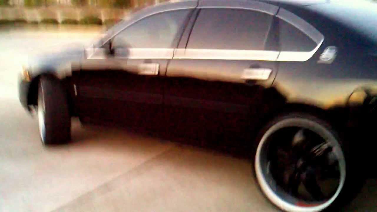 2011 Impala On 24s >> Impala ltz blacked out on 24s - YouTube