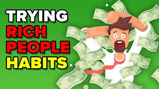 I Tried Rich People Habits For A Month And This Is What Happened (FUNNY CHALLENGE & EXPERIMENT)