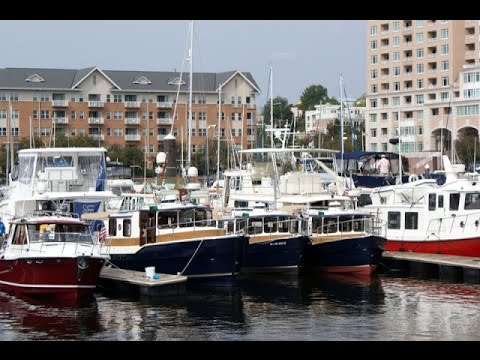 United Yacht Transport - Yacht Transport - Trawlerfest Baltimore at Harborview Marine Center