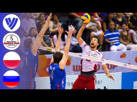 Poland Vs. Russia - Full Match   FIVB Men's Volleyball World Cup 2015