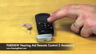 P680MW Hearing Aid Remote Control 2 Accessory