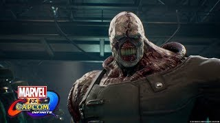 Marvel Vs Capcom Infinite Story Trailer With Chris Redfield & Nemesis