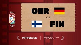 Highlights: GERMANY vs FINLAND | 2021 #IIHFWorlds