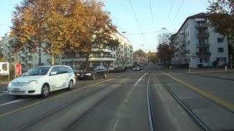 Zürich Schweiz Trolley Bus Linie 31 Herbst
