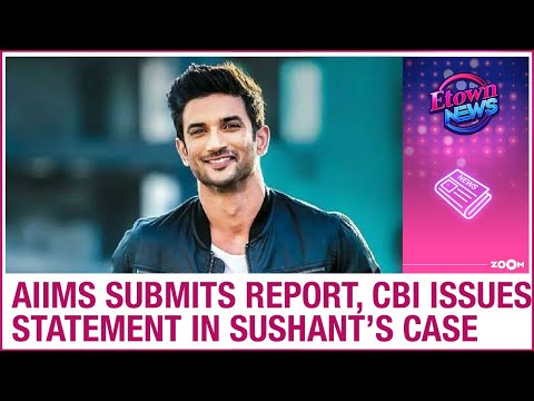 AIIMS submits report in Sushant Singh Rajput's case; CBI issues BIG statement on late actor's death