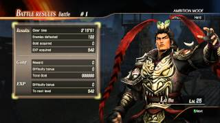 Dynasty Warriors 8 - Ambition Mode - Lets Play Part 1