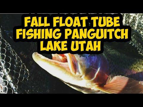 Fall Float Tube Fishing Panguitch Lake Utah 2018