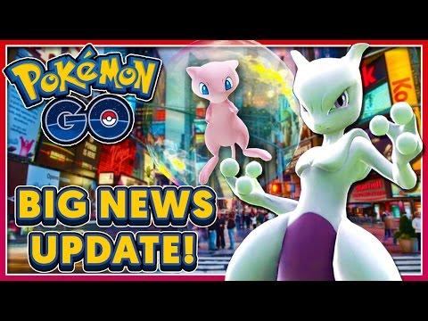 Pokémon GO - BIG NEWS UPDATE: CO-OP LEGENDARY GYM RAIDS COMING SOON?!