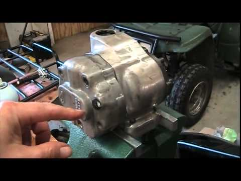 504 International tractor  Hydraulic pump fix