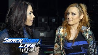 Becky Lynch is curious about the SmackDown Top 10 voting: SmackDown LIVE Fallout, Feb. 6. 2018