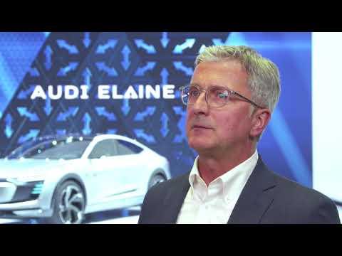 Audi at the IAA 2017 - Interview Rupert Stadler