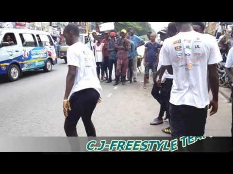 FIDELITY BANK MOB STREET DANCE SHOW BY YKD