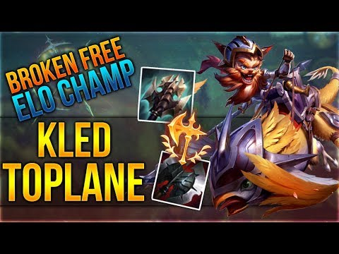 Broken Free Elo Champ mit Kled Toplane! [League of Legends] [Deutsch / German] thumbnail