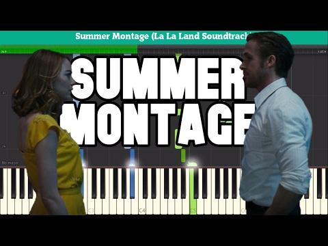 Summer Montage (La La Land Soundtrack) Piano Tutorial - Free Sheet Music