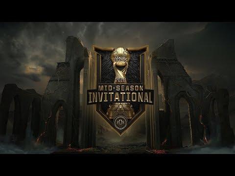 MSI 2018 Yarı Finali: Royal Never Give Up ( RNG ) Vs Fnatic ( FNC )