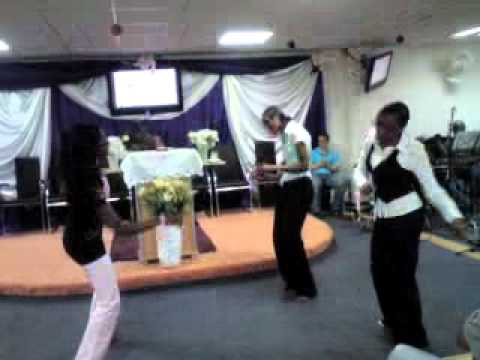 Holy ghost Fire Revival Ministry Dancing for Jesus