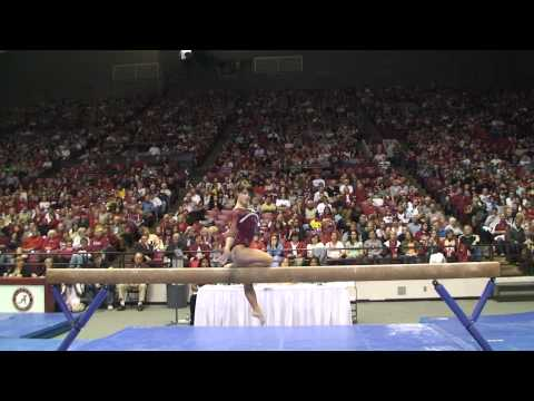Alabama Gymnastics: Sarah DeMeo on the Balance Beam vs. Florida