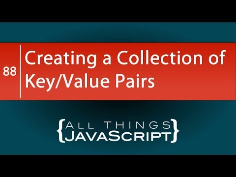 JavaScript ES6 Features: Creating Key/Value Pairs with Maps