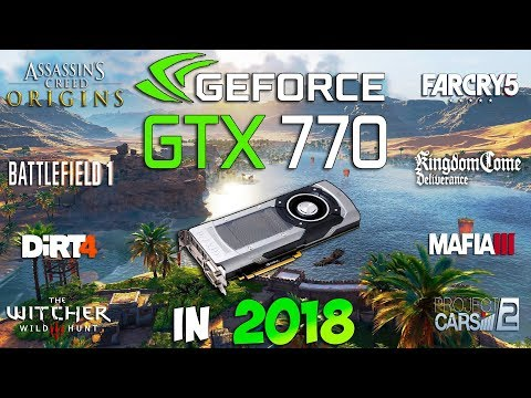 GTX 770 4GB Test in 8 New Games