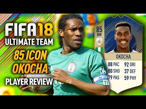 FIFA 18 ICON JAY JAY OKOCHA (85) *92 DRIBBLING* PLAYER REVIEW! FIFA 18 ULTIMATE TEAM!