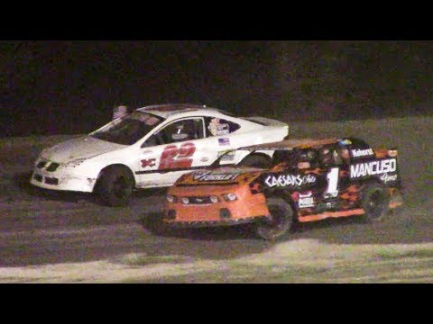 Mini Stock Feature | Genesee Speedway | 9-16-18