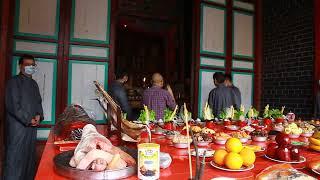 Publication Date: 2020-03-04 | Video Title: 24/2/20 上水鄉廖萬石堂祭祖之祭五祖祖先
