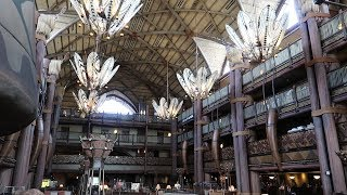 Скачать Disney S Animal Kingdom Lodge Resort Tour Hotel Grounds DVC Pools Food Locations Animals