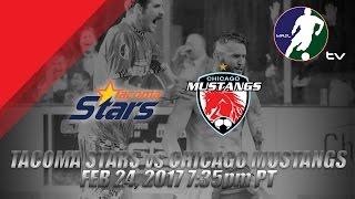 Tacoma Stars vs Chicago Mustangs