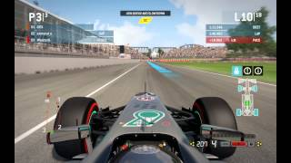 F1 2013 - Weird pitstop and loss of engine power