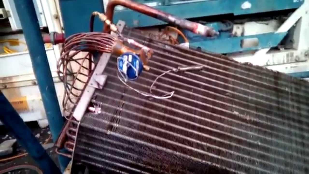 Repair Leak At Evaporator Coil Carrier Transicold 511 Series Part 2