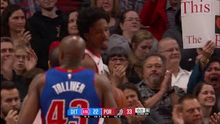 2nd Quarter, One Box Video: Portland Trail Blazers vs. Detroit Pistons