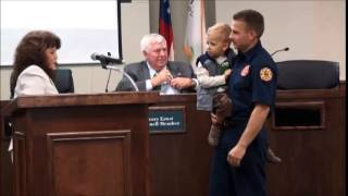 Peachtree City Police and Peachtree City Fire Rescue Employee Awards December 2014