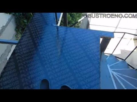 Покраска ламинированной фанеры резиновой краской / Obustroeno Com