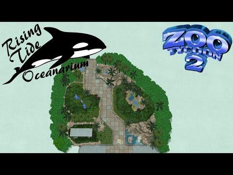 Zoo Tycoon 2: Rising Tide Oceanarium Part 1 - Garden Walkway
