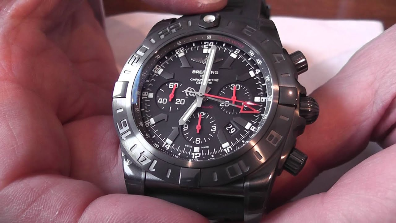 Breitling For Bentley >> Bob's Blog: Limited Edition Breitling GMT Blacksteel Watch ...