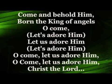 OLETA ADAMS - O Come All Ye Faithful (Lyrics)