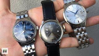 Seiko Cocktail Time Comparison - Gorgeous Dress Watches