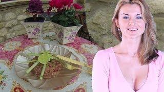 Французский ТАРТАР из ТУНЦА / Tuna Tartar / Как приготовить тартар (KatyaCHEF)