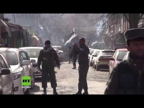 Heftige Explosion erschüttert Kabul: Mindestens 63 Tote, 151 Verletzte