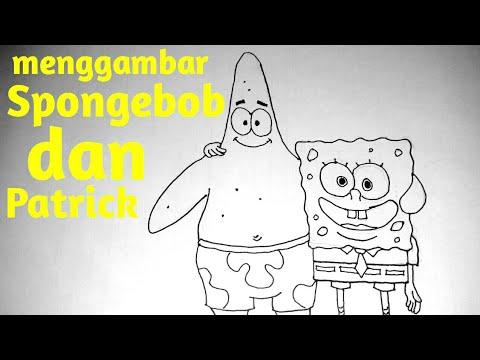 Belajar Menggambar Sketsa Kartun Spongebob How To Draw Sketch
