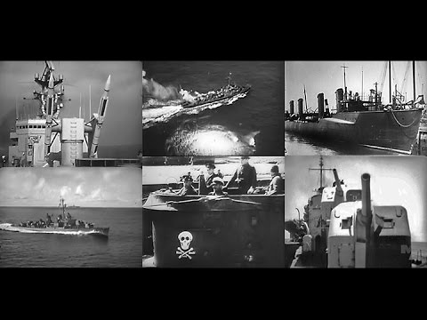 U.S. Navy Destroyers – Greyhounds of the Sea (1966)