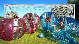 Fodbold i kæmpe Bobler!