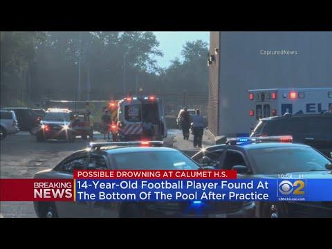 High School Football Player Found Unresponsive In Calumet High School Swimming Pool In Gary