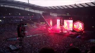 Coldplay LIVE - A Head Full of Dreams Tour - Manchester Etihad Stadium - Saturday 4th June 2016