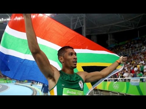 South African stuns the world at Rio Olympics