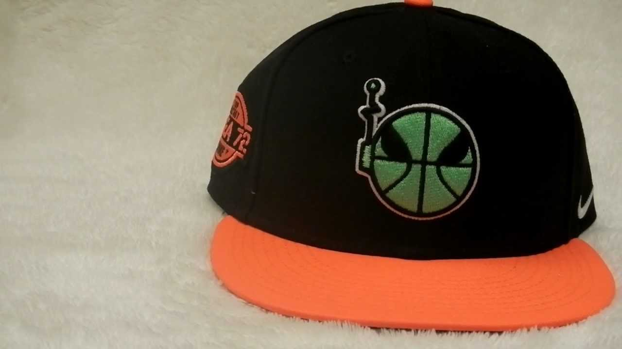 ad9bda4e Nike Area 72 Raygun Snapback Hat Review - YouTube